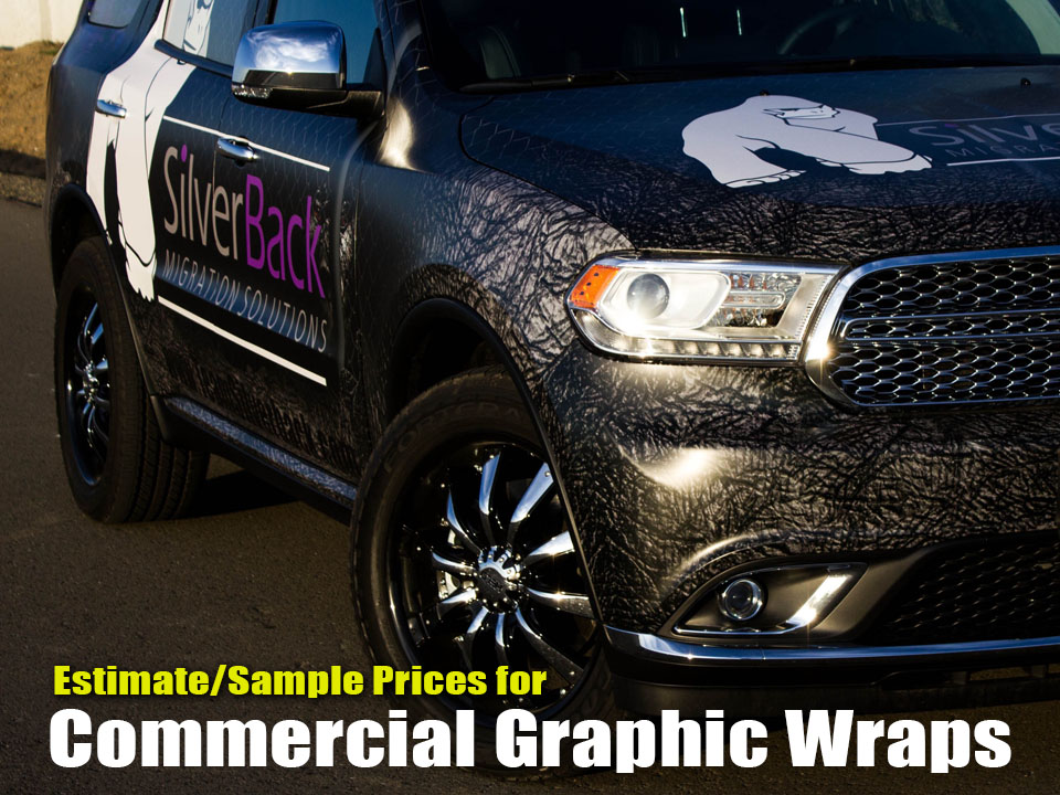 Commercial Graphic Wrap Business Advertising Car Wraps