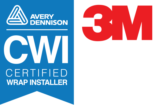 Avery Certified Wrap Installer and 3M Vinyl Film